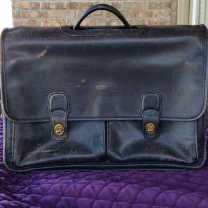 Vintage Coach Organizer Brief 532 black